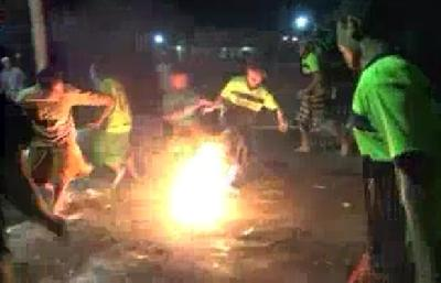 Vatreni nogomet u Indoneziji