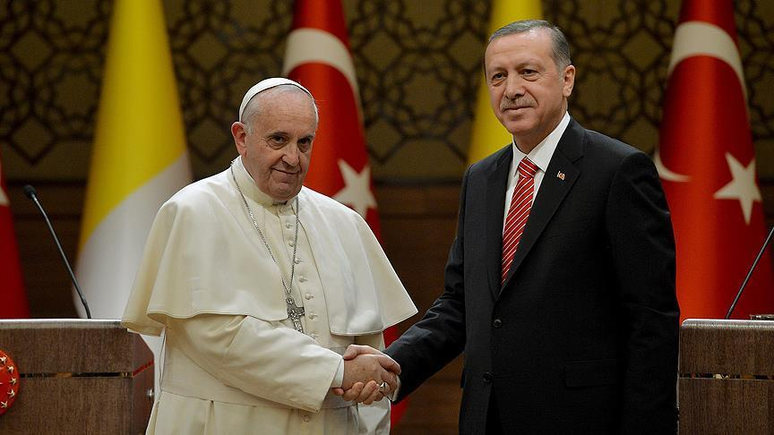 Erdogan i papa Franjo o Jerusalemu: Postupak SAD-a pogrešan