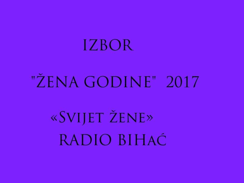 RTV Bihać u sklopu emisije «Svijet žene» organizira Izbor «Žene godine»