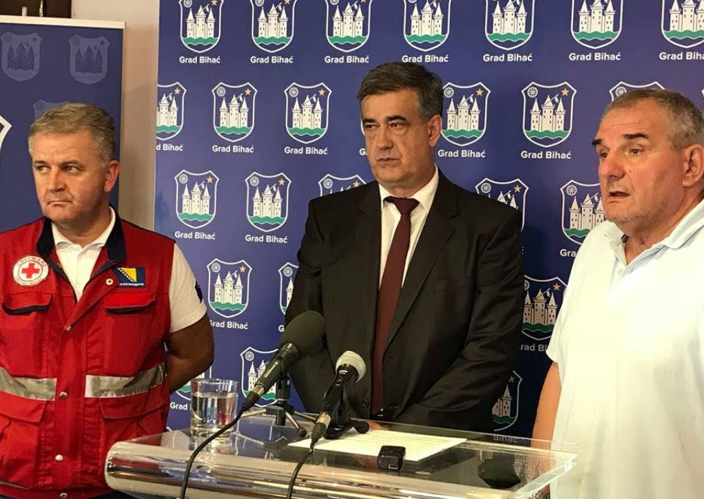 Gradonačelnik Bihaća zahtijeva veći angažman kantonalnih i hitnu reakciju državnih organa