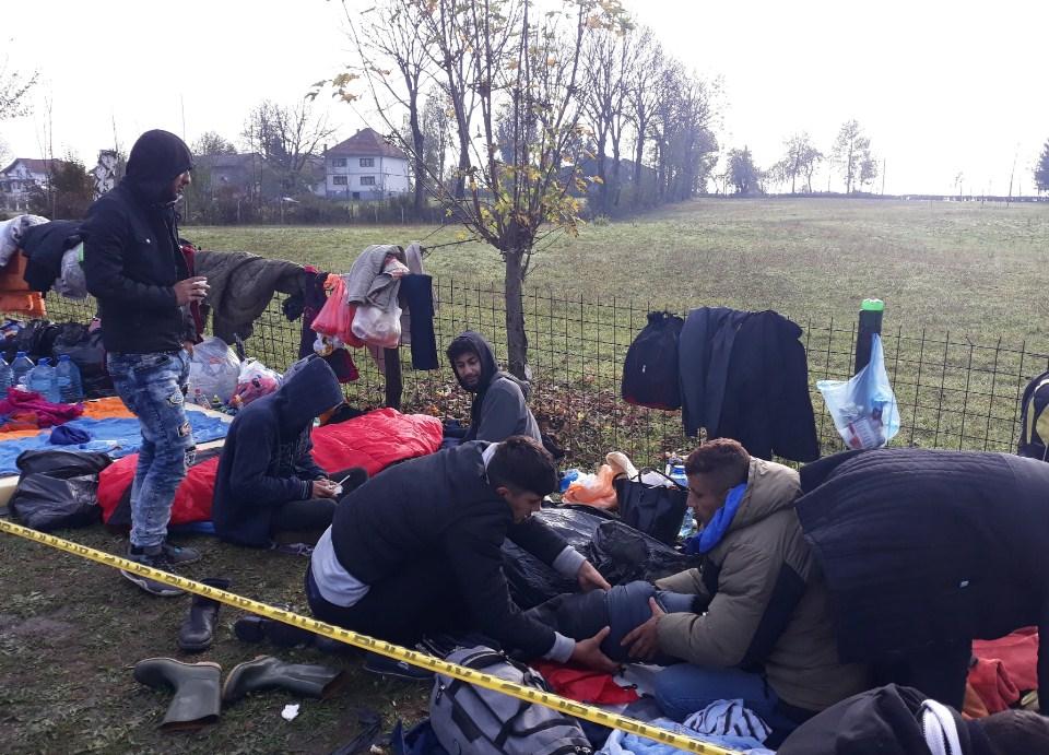 Jedan migrant pod istragom za bludne radnje, a drugi za krivotvorenje putne isprave
