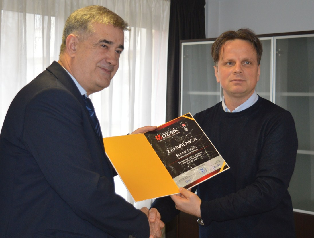 Grad Bihać i Fondacija Mozaik potpisali Memorandum o saradnji
