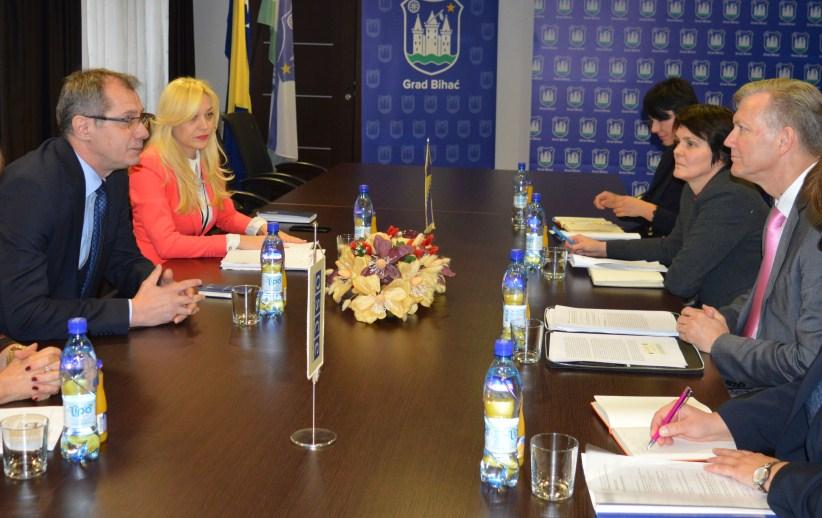 Predsjedavajući GV Bihać razgovarao sa šefom Misije OSCE-a u BiH