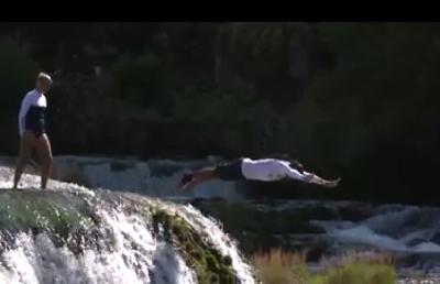 Orlando Duque i Rhiannan Iffland skakali sa Štrbačkog buka