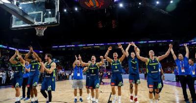 Slovenija savladala Španiju za svoje prvo finale u historiji