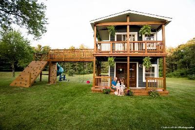 Otac izgradio raskošnu kuću za igru za svoje kćerkice