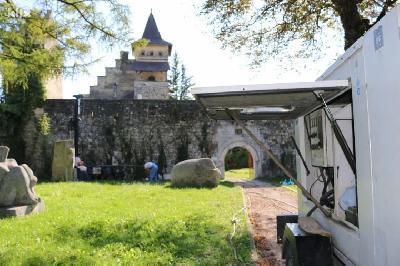 Počela geotehnička istraživanja na dvorcu Lothara von Berksa u Starom gradu Ostrožcu