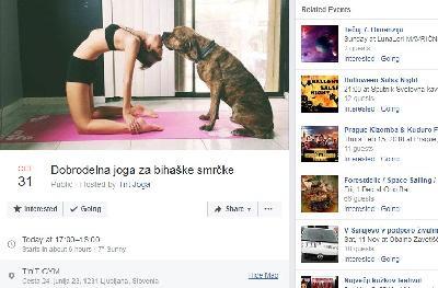 Ljubljanski joga rekreativci za pse iz bihaćkog azila