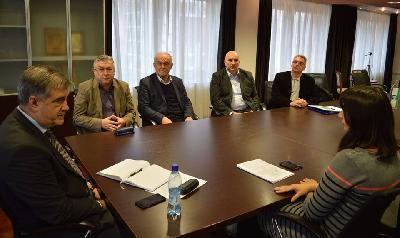 Članovi Komisije za očuvanje nacionalnih spomenika u BiH razgovarali sa gradonačelnikom Bihaća