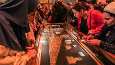 Tutankamonova zlatna kolekcija prvi put predstavljena javnosti