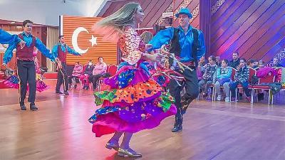 U Nikšiću, Pljevljima i na Cetinju nastupila folklorna grupa iz turskog grada Edirne