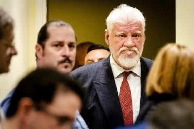 Slobodan Praljak umro u bolnici u Haagu