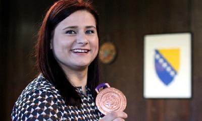 Larisa Cerić je najbolji sportista 2017. godine u BiH