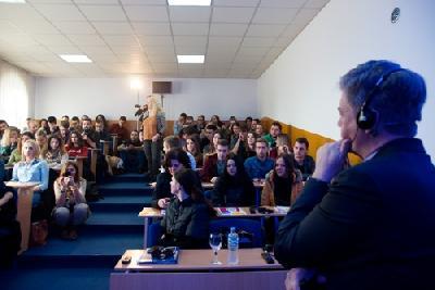 Lars-Gunnar Wigemark razgovarao sa studentima u Bihaću