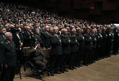 Hrvati odali počast osuđenom ratnom zločincu