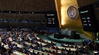 Nacrt rezolucije o Jerusalemu usvojen uprkos prijetnjama SAD-a