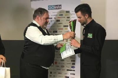 Faris Vučkić osvojio drugo mjesto na snooker turniru Zagreb Open