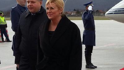 Predsjednica Hrvatske danas u Vitezu, Novoj Bili, Tuzli...