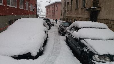 Nove snježne padavine na području USK