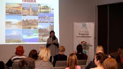 Andrea Berković započela ciklus predavanja o Turskoj na Institutu Yunus Emre