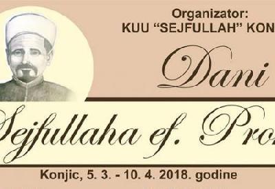 Dani Sejfulaha ef. Prohe u Konjicu