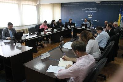 Vlada USK usvojila Izvještaj o radu budžetske inspekcije