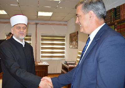 Gradonačelnik Bihaća posjetio bihaćkog muftiju