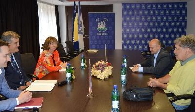 Generalni konzul Republike Hrvatske razgovarao sa bihaćkim gradonačelnikom