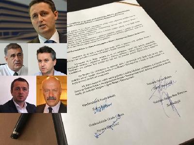 Fazlić, Duraković, Ogrešević i Hujić podržali kandidaturu Denisa Bećirovića