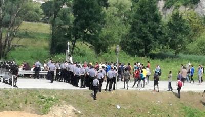 Situacija na graničnom prijelazu Maljevac pod kontrolom