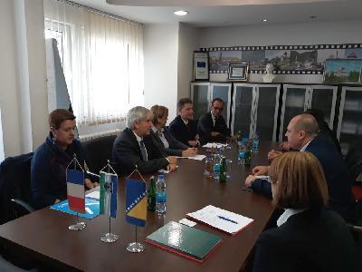 U Bihaću boravi ambasador Francuske u Bosni i Hercegovini Guillaume Rousson