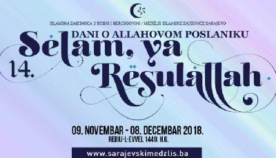 Na manifestaciji 'Selam, ya Resulallah' 30 programa i 250 učesnika
