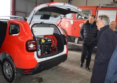 Vatrogasna jedinica nabavila novo vozilo za gašenje požara