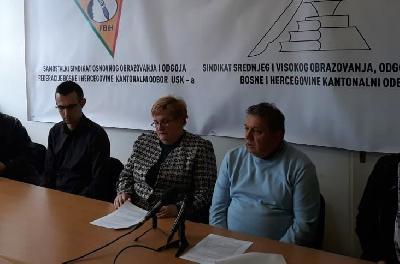 Odgođen generalni štrajk prosvjetnih radnika