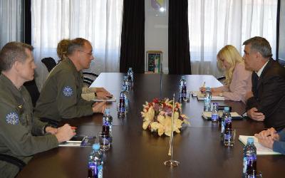 Komandant EUFOR-a u BiH razgovarao sa gradonačelnikom Bihaća o migrantskoj krizi